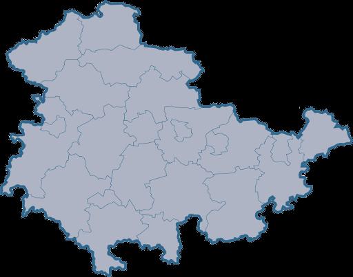 Raum Wohnung Rudolstadt